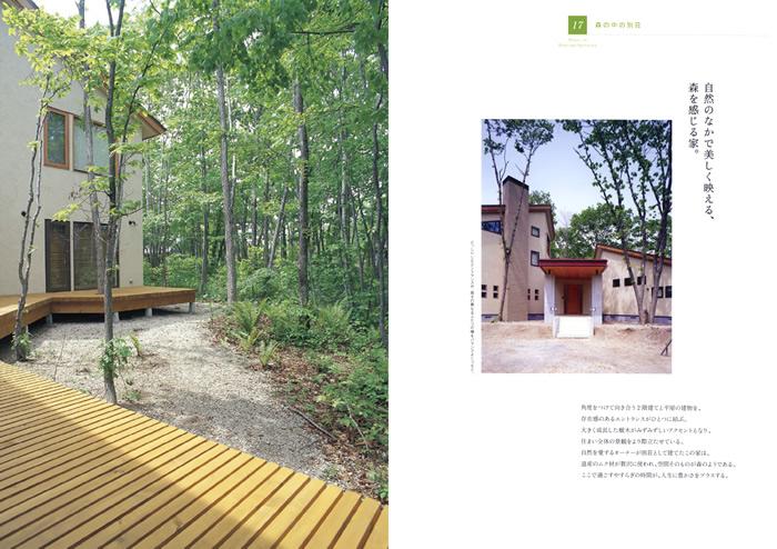 17.森の中の別荘