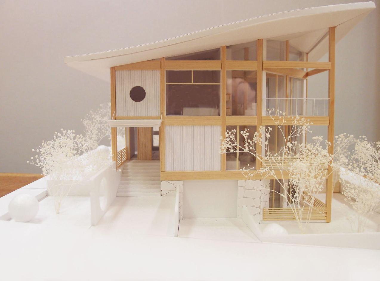 OZONE建築家100人の模型展で、 人気投票2位に選ばれました!