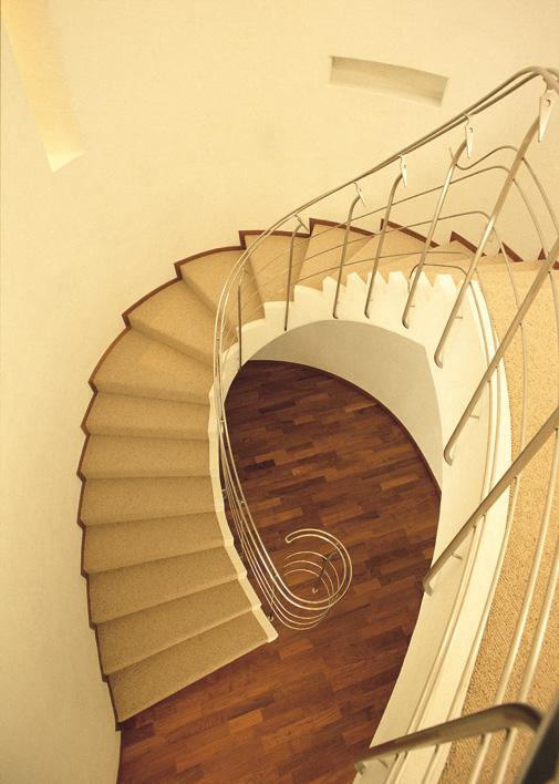 階段部吹抜け
